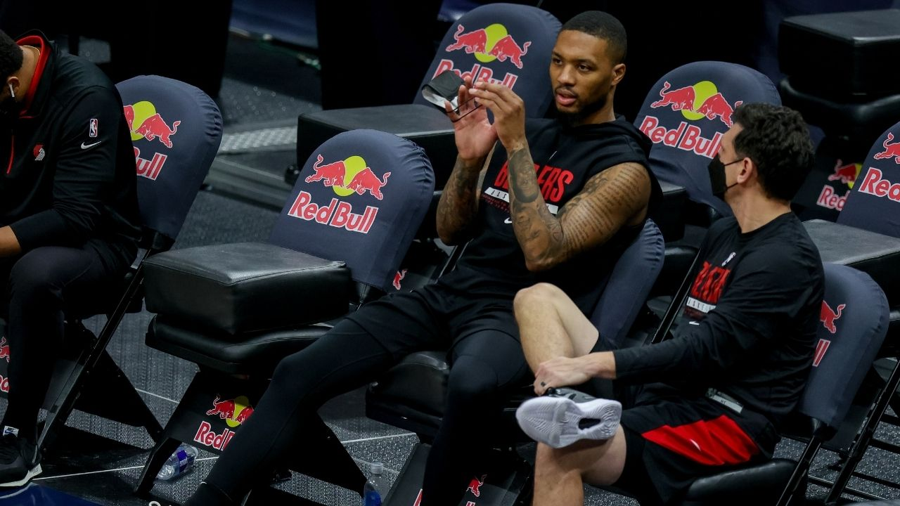 """""""Who cares?"""": Damian Lillard's nonchalant response to Skip Bayless berating him over his Playoff woes and clutch-time stats"""