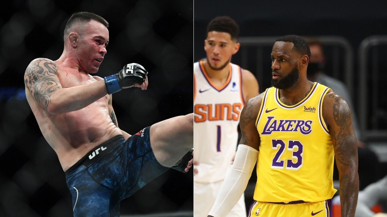"""LeBron James, you're a Chinese finger puppet"": Colby Covington blasts Lakers star for double standards while talking politics after Zlatan Ibrahimovic rebuke, cites Daryl Morey incident as proof"