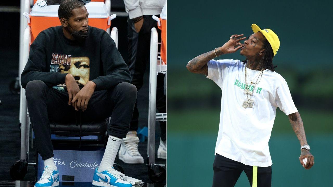 """Kevin Durant left me outside the club"": Wiz Khalifa reveals the hilarious story of how the Nets superstar once ditched him because Wiz was barred by bouncers"