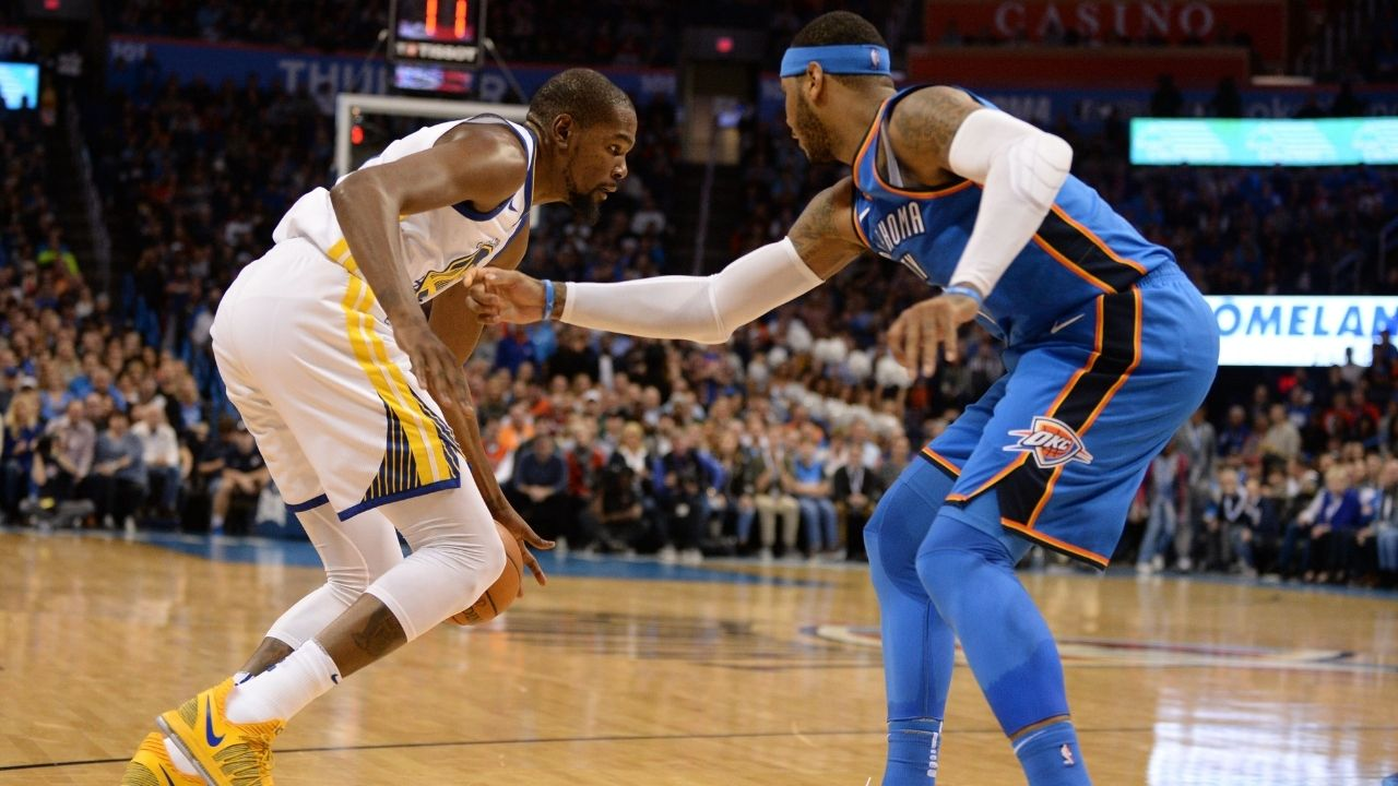 """""""Carmelo Anthony got me thinking too much on defense, I got on the plane confused"""": Kevin Durant reveals his 'Welcome to the NBA' moment"""