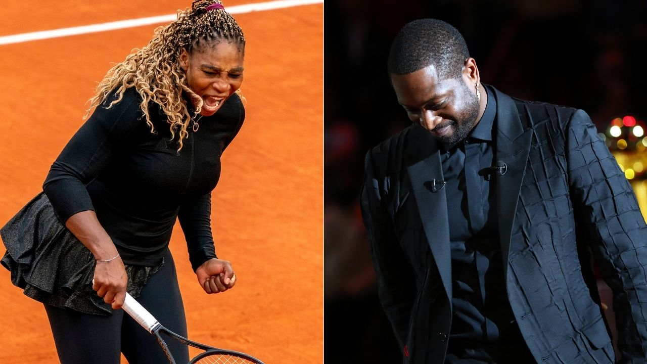 """""""She won an Open when pregnant"""": Dwyane Wade pinpoints his exact reasons for considering Serena Williams as the greatest athlete of all time"""