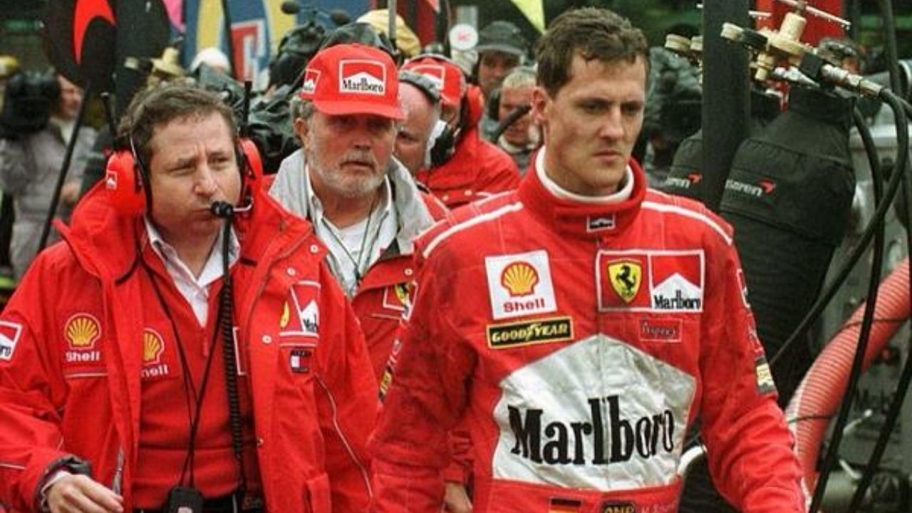 """""Michael was antagonized""- Eddie Jordan claims Michael Schumacher 'tried to beat him'"