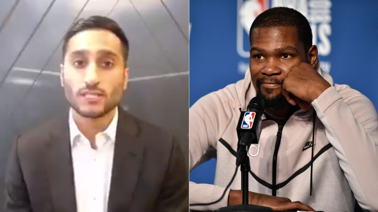 """""""Shams Charania is a creep, yo"""": Kevin Durant hilariously accuses NBA insider of being a CIA insider on 'Catching Up with KD' podcast"""