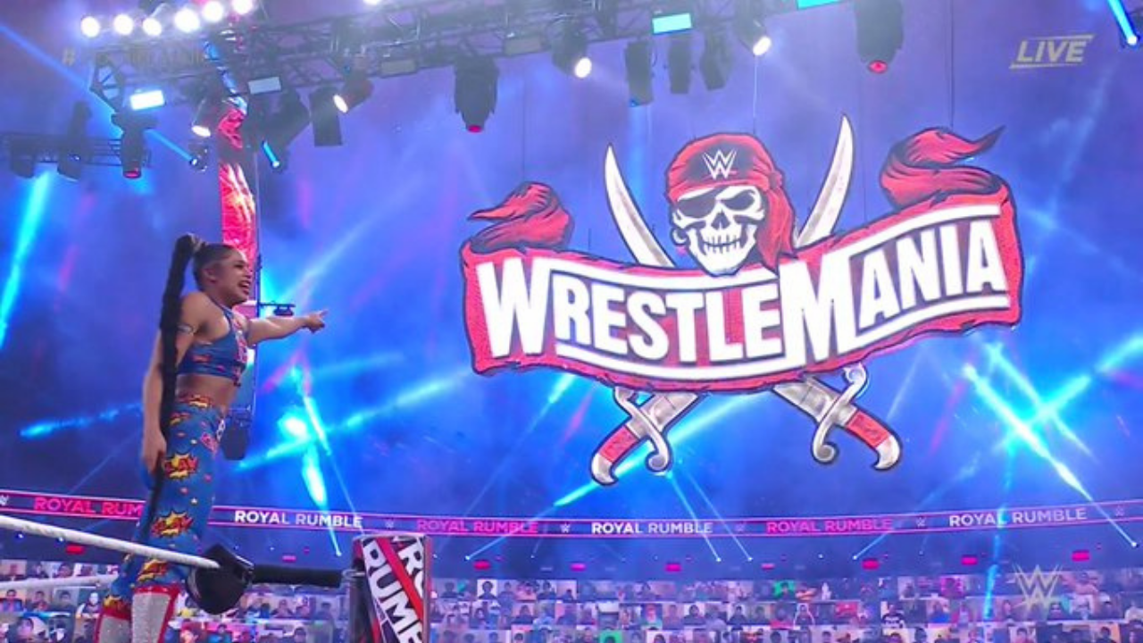 Bianca Belair wins WWE Women's Royal Rumble 2021 to book her place at Wrestlemania 37