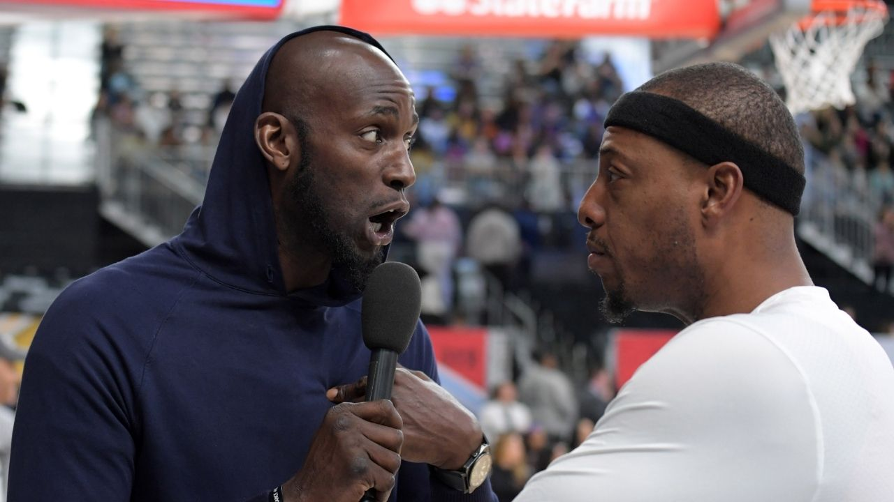 """""""Kevin Garnett, remember the game I gave you 40 in 3 quarters?"""": Celtics legend trolls Michael Jordan for walking around with a sidekick to talk trash to his rivals"""