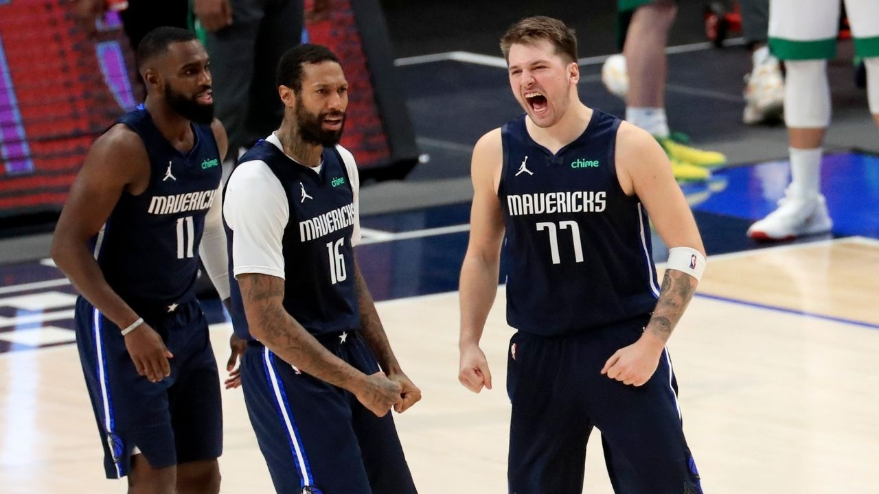 """""""It's like playing chess"""": Luka Doncic sounds off on how to generate elite offense after hitting a game-winner against Boston Celtics"""