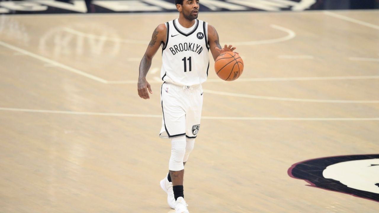 'I can't guard a yard stick': Nets' Kyrie Irving heavily trolls himself for defensive disasterclass in 'Russell Westbrook inspired' win for Wizards