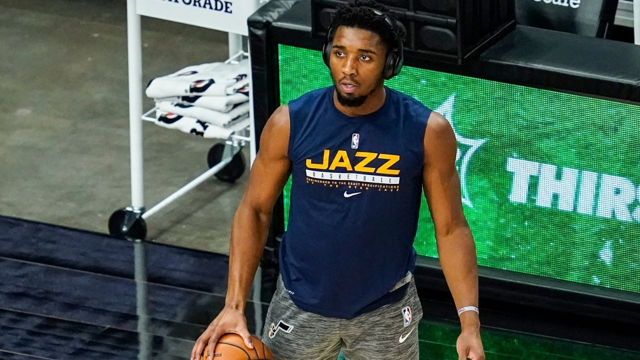 'Thinking of what dunk to do': Former Dunk contest champion Donovan Mitchell hilariously defends himself after missing a wide-open dunk