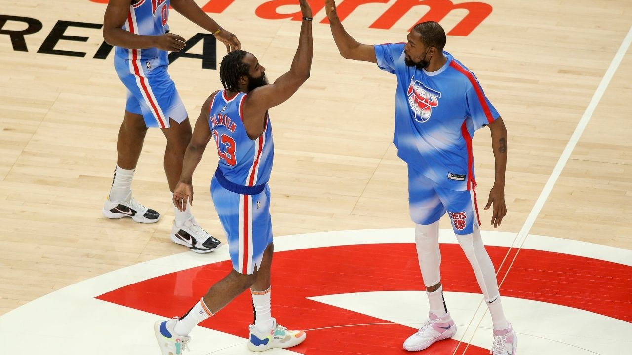 'Need to put it together on both sides of the ball': Kevin Durant lays down challenge for Kyrie Irving and James Harden after loss to Wizards