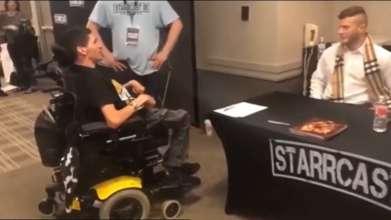 Arn Anderson was shocked when MJF ridiculed a wheelchair bound fan