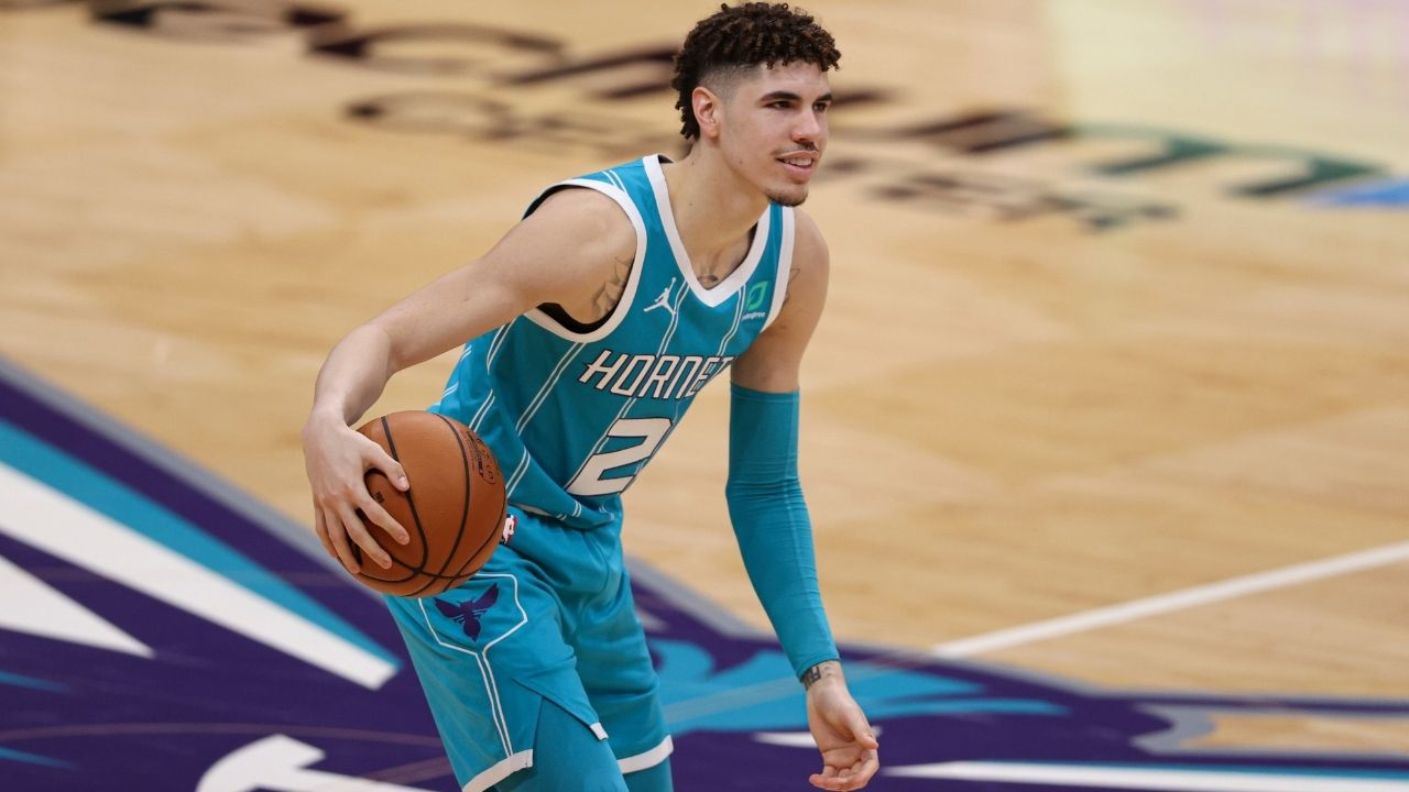 LaMelo Ball picks LeBron James, Michael Jordan in an ambitious all-time starting five that includes the rookie guard himself