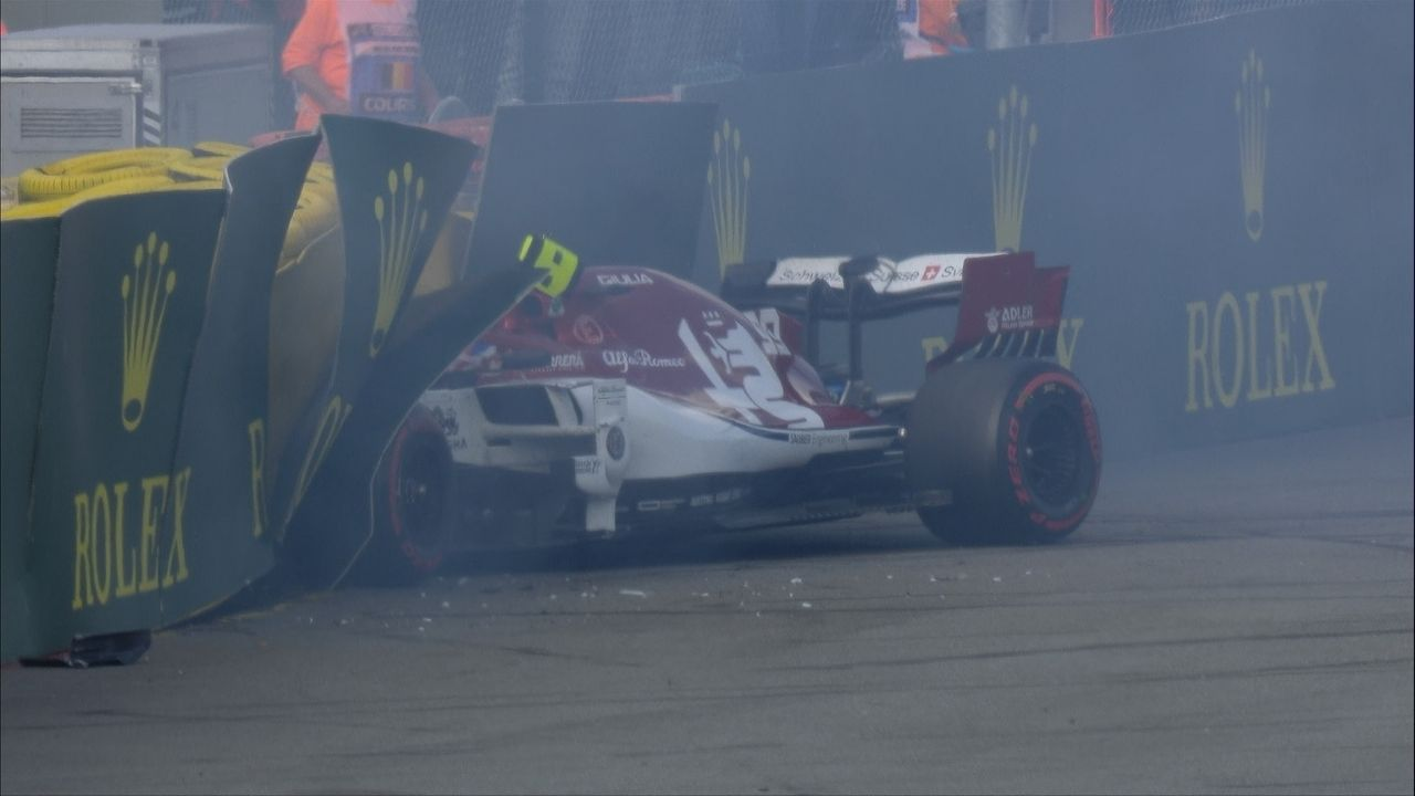 """Learn from those mistakes and that's what I did""- Antonio Giovinazzi learnt big lesson from crash in Belgium"