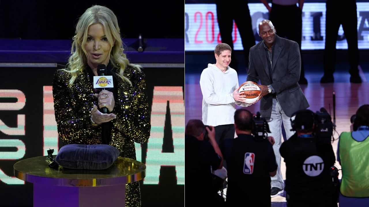 """""""Michael Jordan, how do you keep getting hotter?"""": Lakers owner Jeanie Buss wishes Bulls legend Happy birthday with some flattering remarks"""