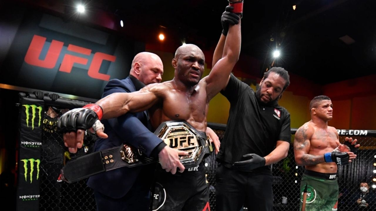 'I guarantee Jorge Masvidal won't sign on that dotted line': Kamaru Usman Calls Out 'The Street Jesus' in UFC 258 Post-Match Interview With Joe Rogan