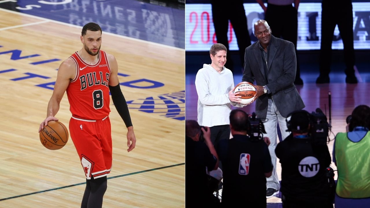 """Michael Jordan scored 45 points how many times??"": Zach LaVine moves to second place behind the GOAT in 45-point games for the Bulls, Twitter is amazed"