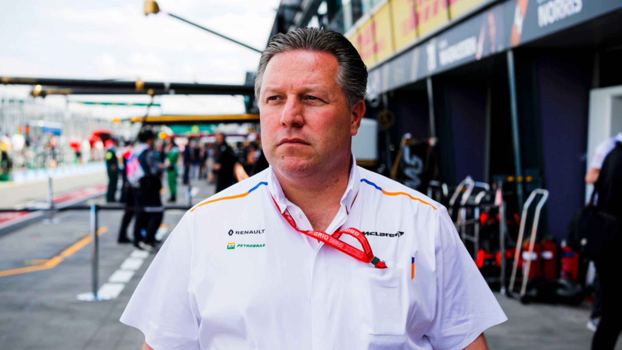 """""""I think it will be introduced in the next few years"""" - McLaren CEO Zak Brown proposes a budget cap for driver salaries"""