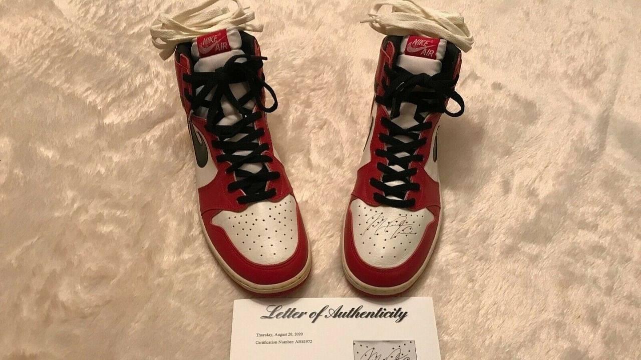 Rare Michael Jordan sneakers on sale for $1 million price tag ...