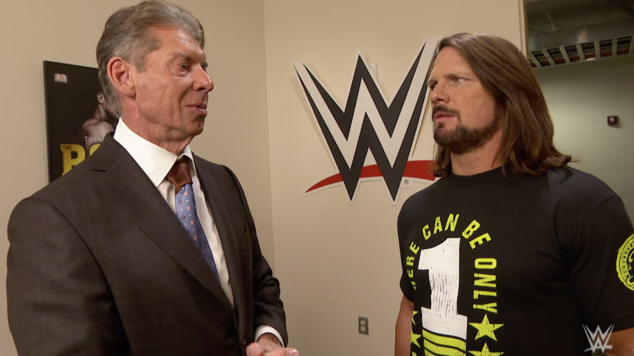 Vince McMahon told AJ Styles he regrets not signing him to WWE a decade earlier