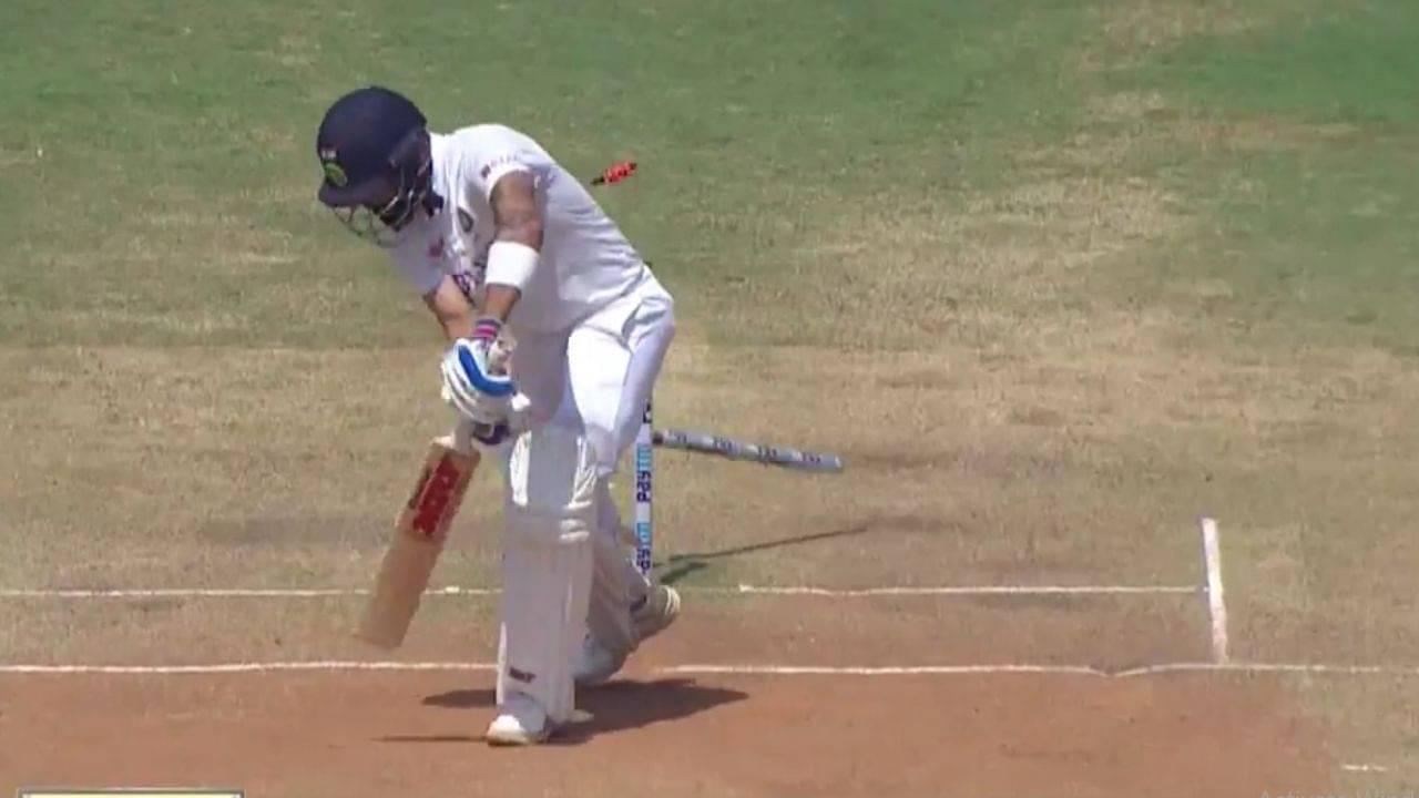 Virat Kohli wicket today: Ben Stokes castles Kohli with a near-unplayable delivery in Chennai Test