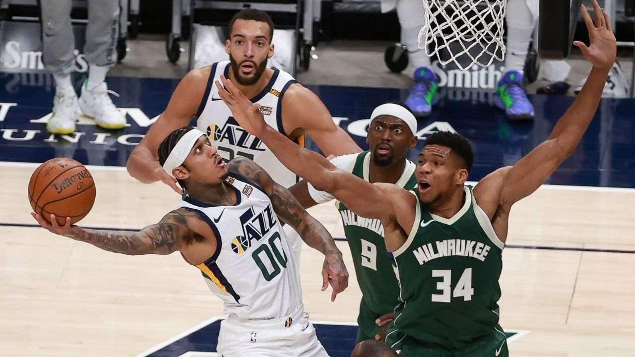 """""""Utah Jazz are the best team in the Western Conference"""": Giannis Antetokounmpo snubs LeBron James, Los Angeles Lakers for the title of 'best in the West'"""