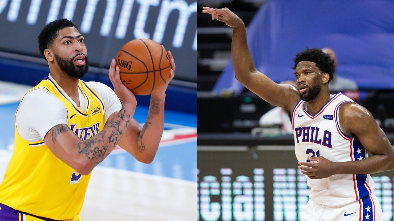 """""""Playing FIFA is harder than guarding Anthony Davis"""": Joel Embiid mocks Lakers star with the most painful insult after showing supremacy on court"""