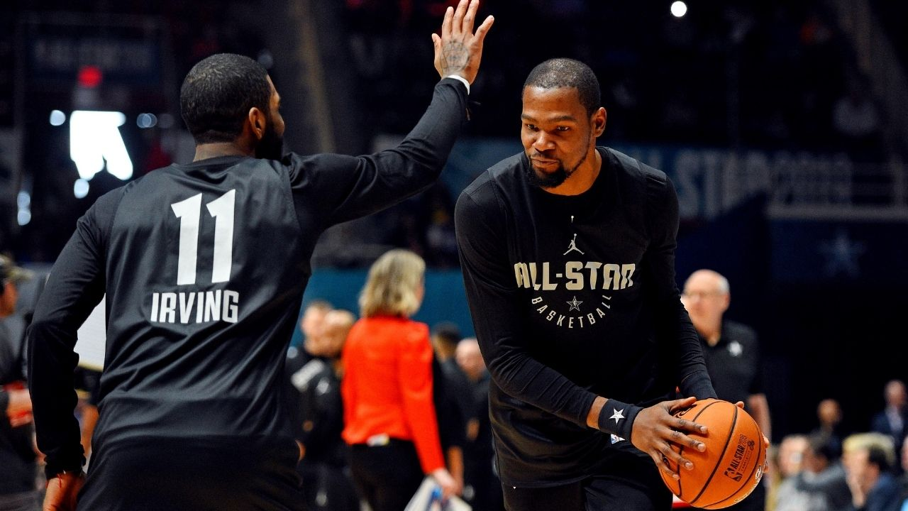 """Have we forgotten Kevin Durant, Steph Curry and Klay Thompson together?"": Lakers' LeBron James believes the Nets' Big 3 with James Harden are not on the 2016-19 Warriors' level"