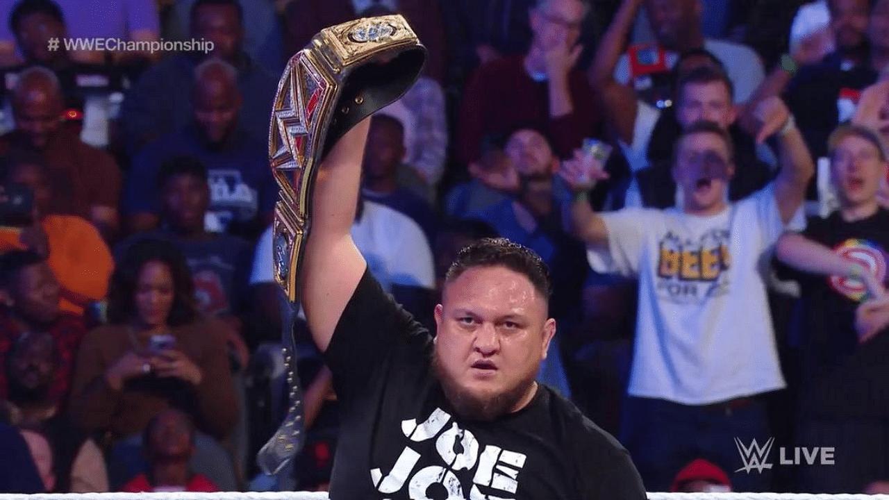 Samoa Joe still wants to become WWE or Universal Champion