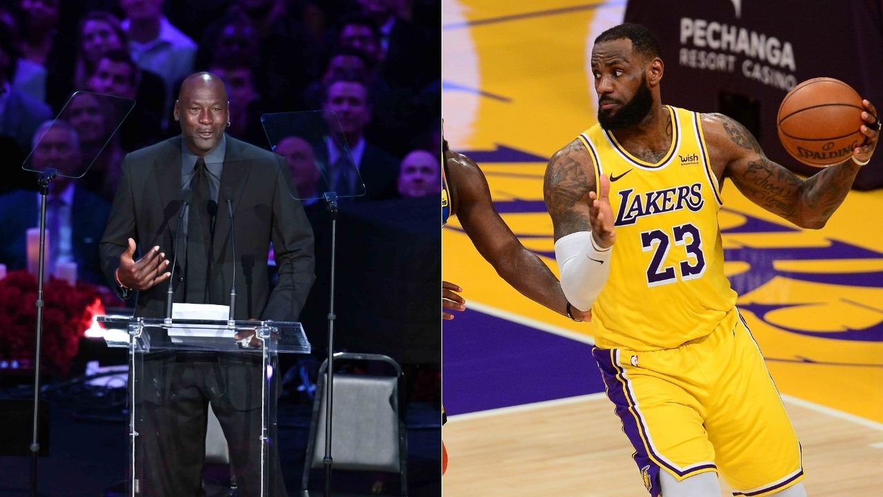 """""""LeBron James has eclipsed Michael Jordan off the court"""": Skip Bayless showers praise on the Lakers star for new initiatives and risk-taking as he passes $1 billion mark in earnings"""