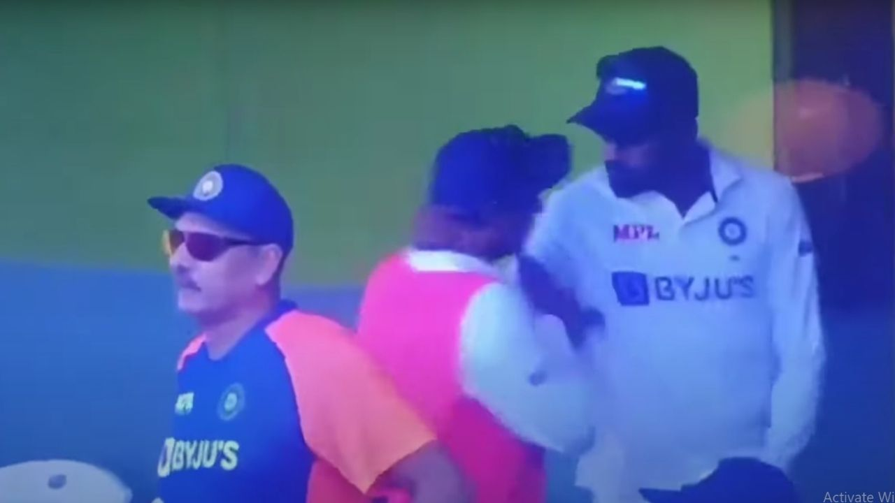 Siraj and Kuldeep Yadav: Reserve Indian players' viral video from Chennai Test confuses fans