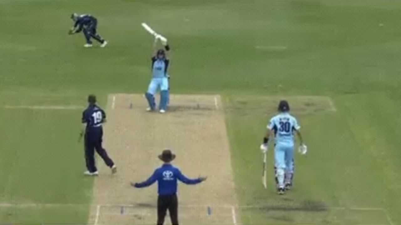 Marsh Cup 2021: Steve Smith funnily leaves James Pattinson wide delivery before scoring 14th List A century