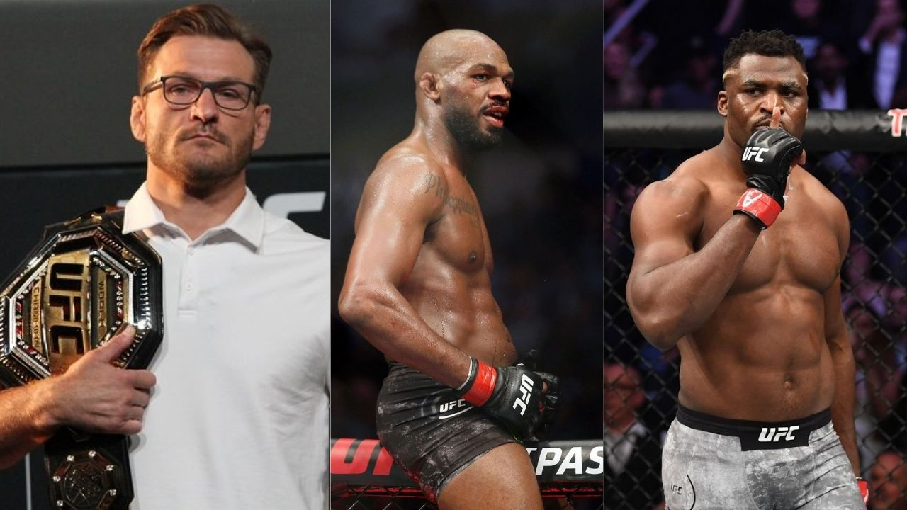 """""""He wants the winner of Stipe and Francis"""": Dana White confirms Jon Jones' heavyweight debut will be for the title"""