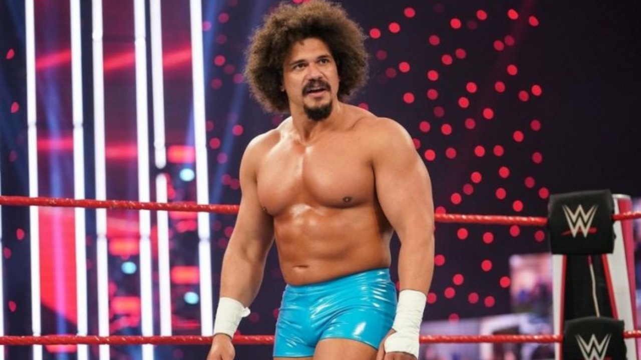 Carlito explains the reason for his frustration with the WWE