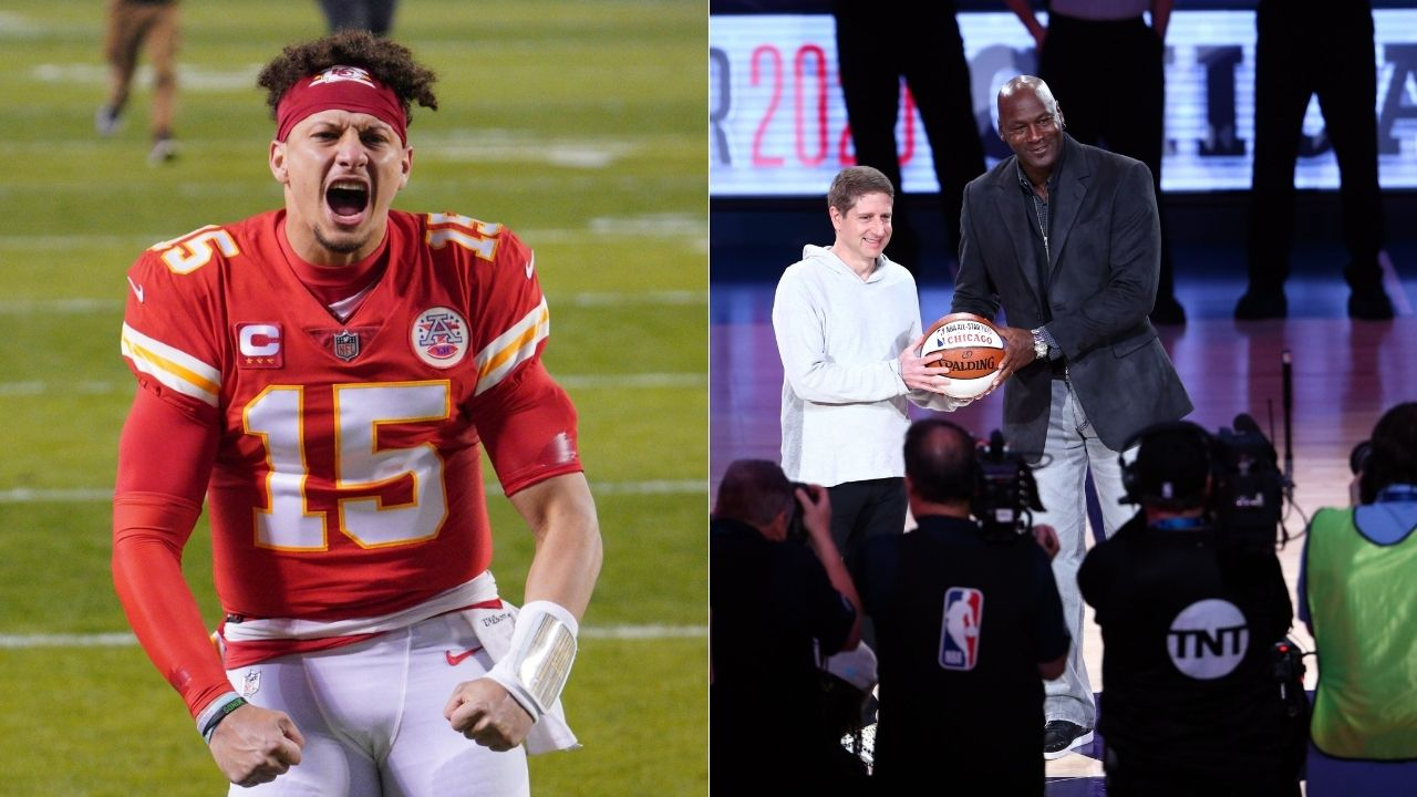 """""""I don't subscribe to comparisons between Michael Jordan and Patrick Mahomes"""": Stephen A Smith shoots down Kansas City Chief's comparison between Super Bowl MVP and MJ"""