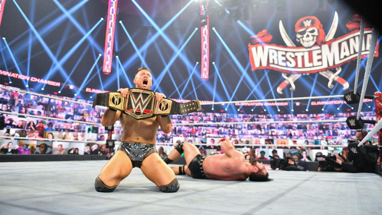 The Miz learned he was going to win the WWE title on the day of Elimination Chamber