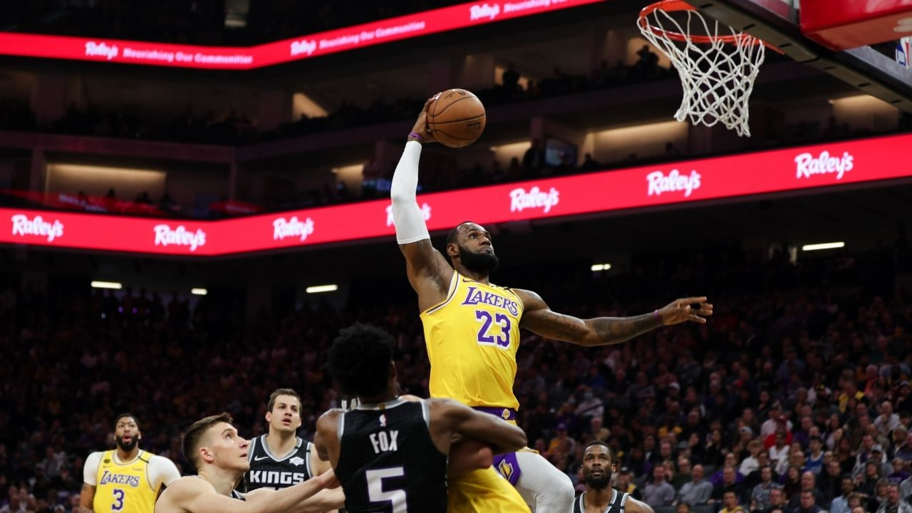 """LeBron James is doing thing no one else has at this age"": Jamal Crawford stoutly defends the Lakers star on Twitter despite dipping advanced statistics"
