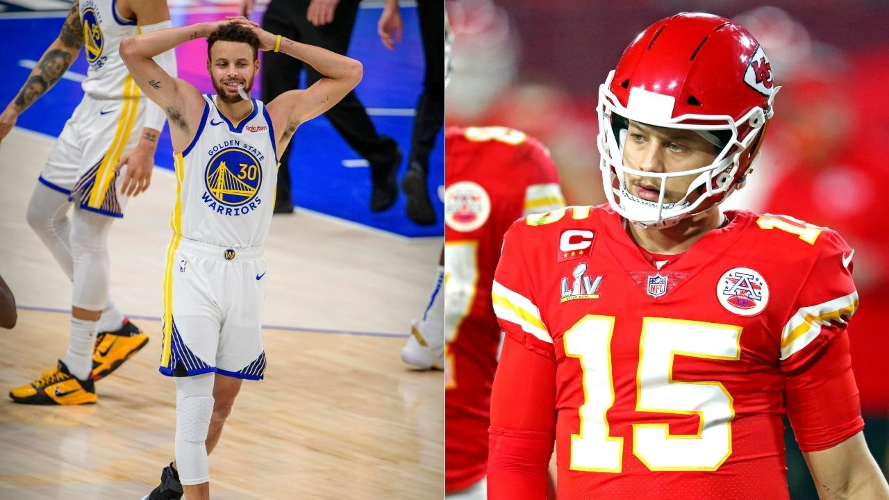 """""""I see a lot of myself in Patrick Mahomes"""": Steph Curry says his NFL counterpart could be the Chiefs superstar following his Super Bowl loss to Tom Brady"""
