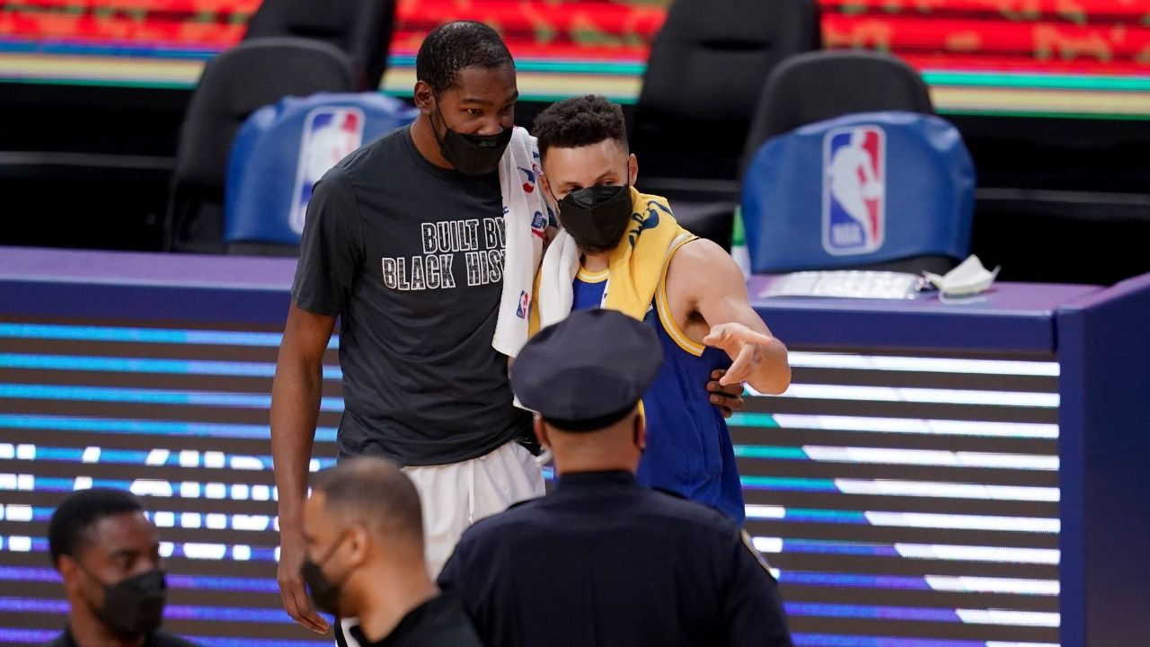 """Kevin Durant could return to Golden State"": NBA analyst theorizes Nets MVP's return to the Warriors to once again team up with Steph Curry and Draymond Green"