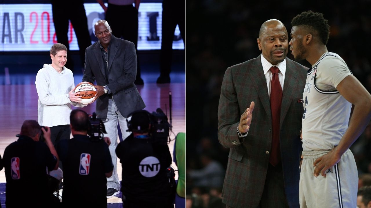 """""""Michael Jordan, you can shut the f*** up"""": When Patrick Ewing taught MJ a lesson as a high school senior on a recruitment visit to UNC"""