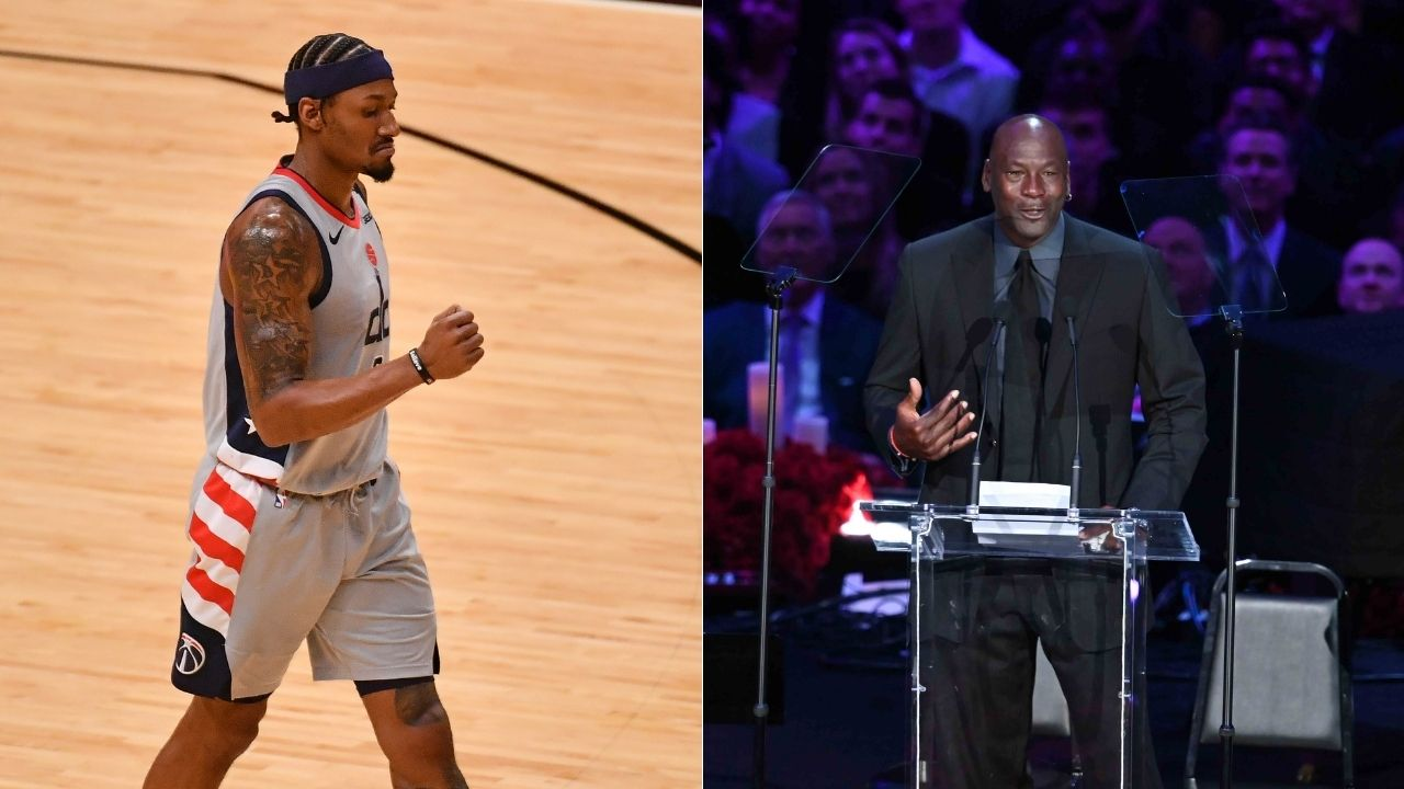 """""""Passing Michael Jordan is a great feeling"""": Bradley Beal reflects on his record-breaking performance in the Wizards' win over the Heat last night"""
