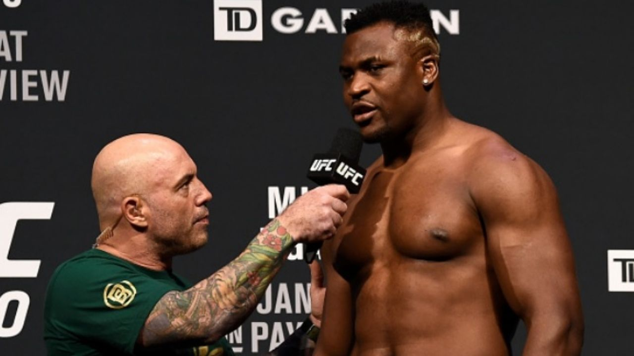 """'This podcast I did with Francis Ngannou was one of the most moving"""": Joe Rogan Hosts UFC Heavyweight Title Contender Francis Ngannou In The Recent Episode Of The Joe Rogan Experience"""