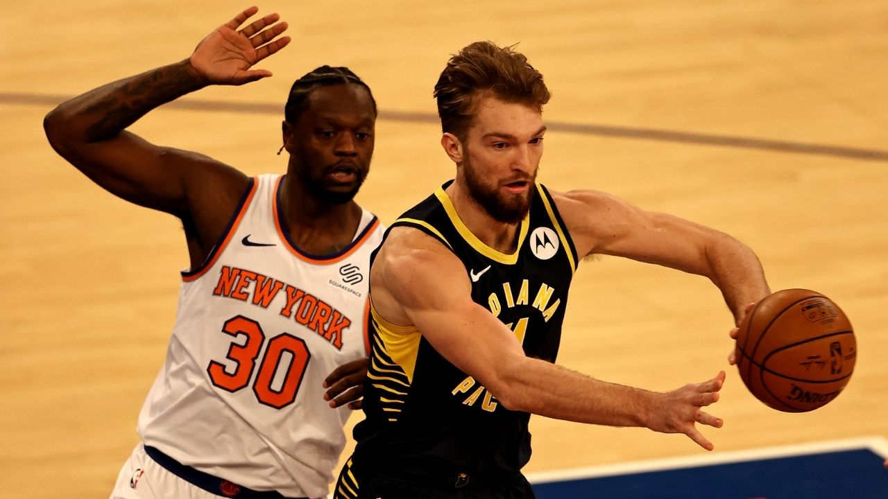 """""""I took the matchup against Domantas Sabonis personally"""": Julius Randle reveals his mentality going into game against the Indiana Pacers"""