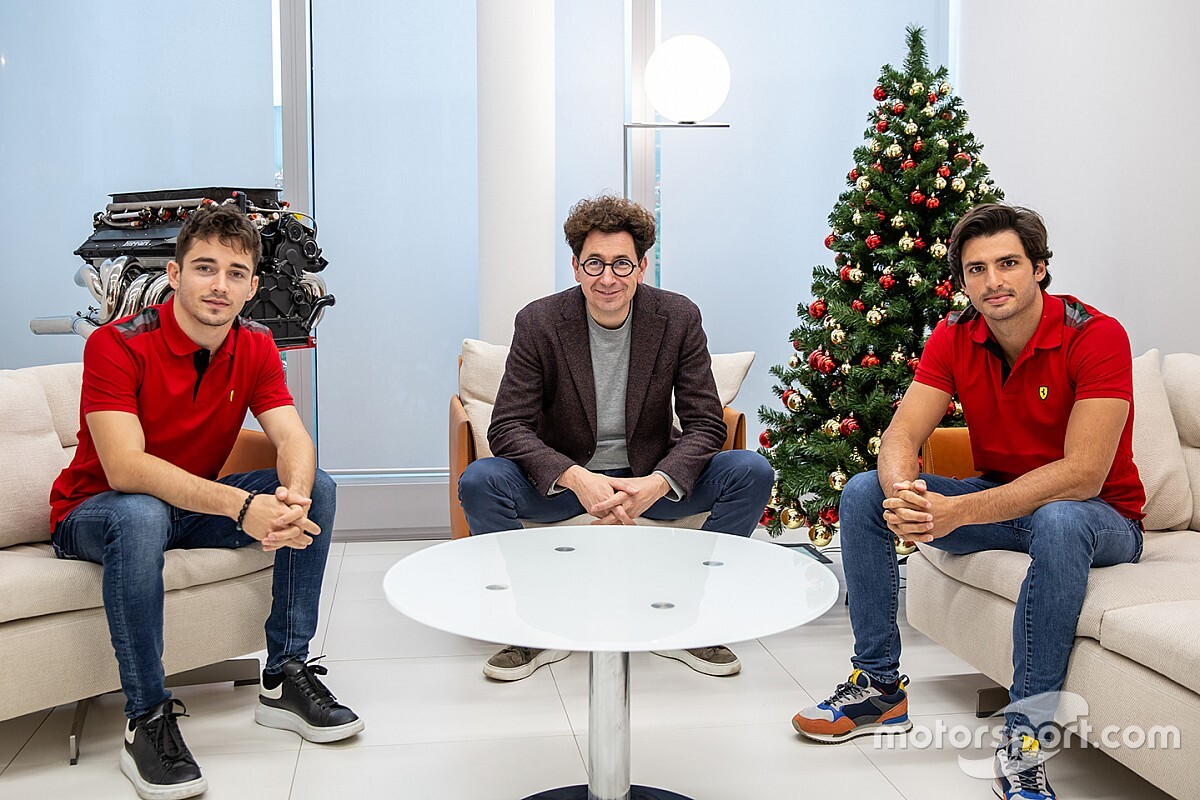 """He is also here for the benefit of the team"" - Charles Leclerc and Carlos Sainz motivated to bring Ferrari back to the top"