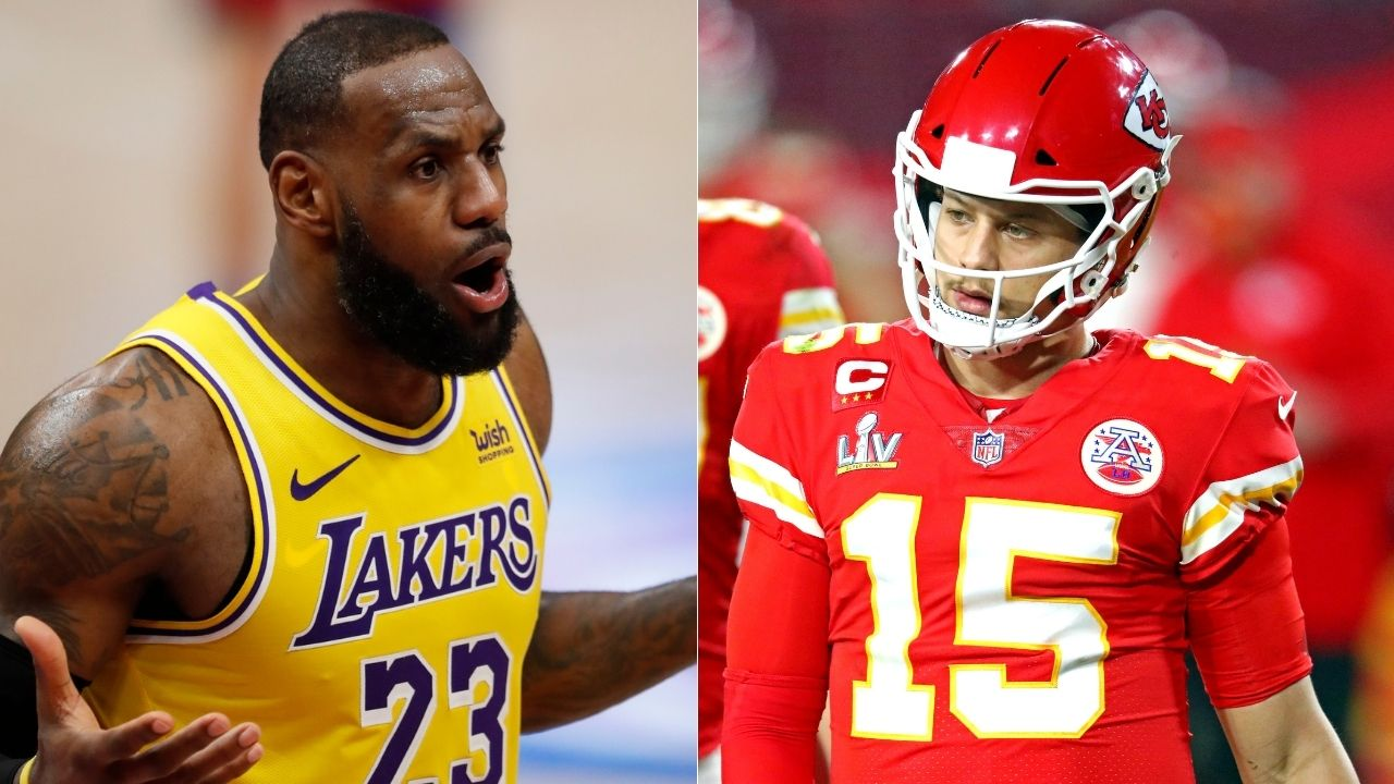 """""""Comparing Patrick Mahomes to LeBron James was disrespectful"""": Super Bowl narrative saying that Chiefs superstar was the LeBron James to Tom Brady's Michael Jordan wasn't received well"""
