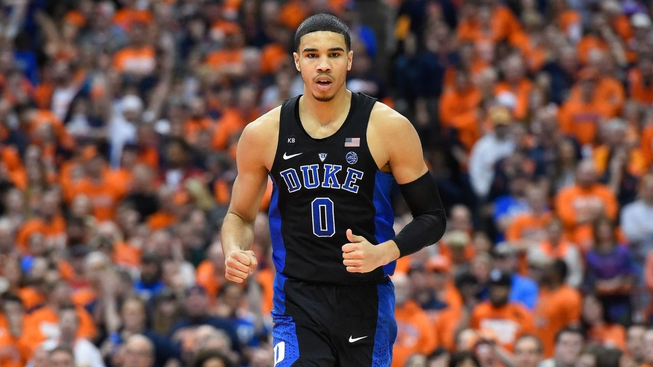 'Soft A** St. Louis kid': When Jayson Tatum was goaded by Coach Mike Kryzewski into delivering a stellar second-half performance for Duke