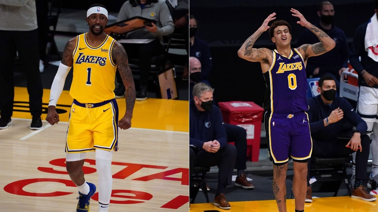 """Kyle Kuzma would be starting if he was a Klutch client"": Skip Bayless slyly accuses LeBron James of dictating Lakers' starting lineups this season"
