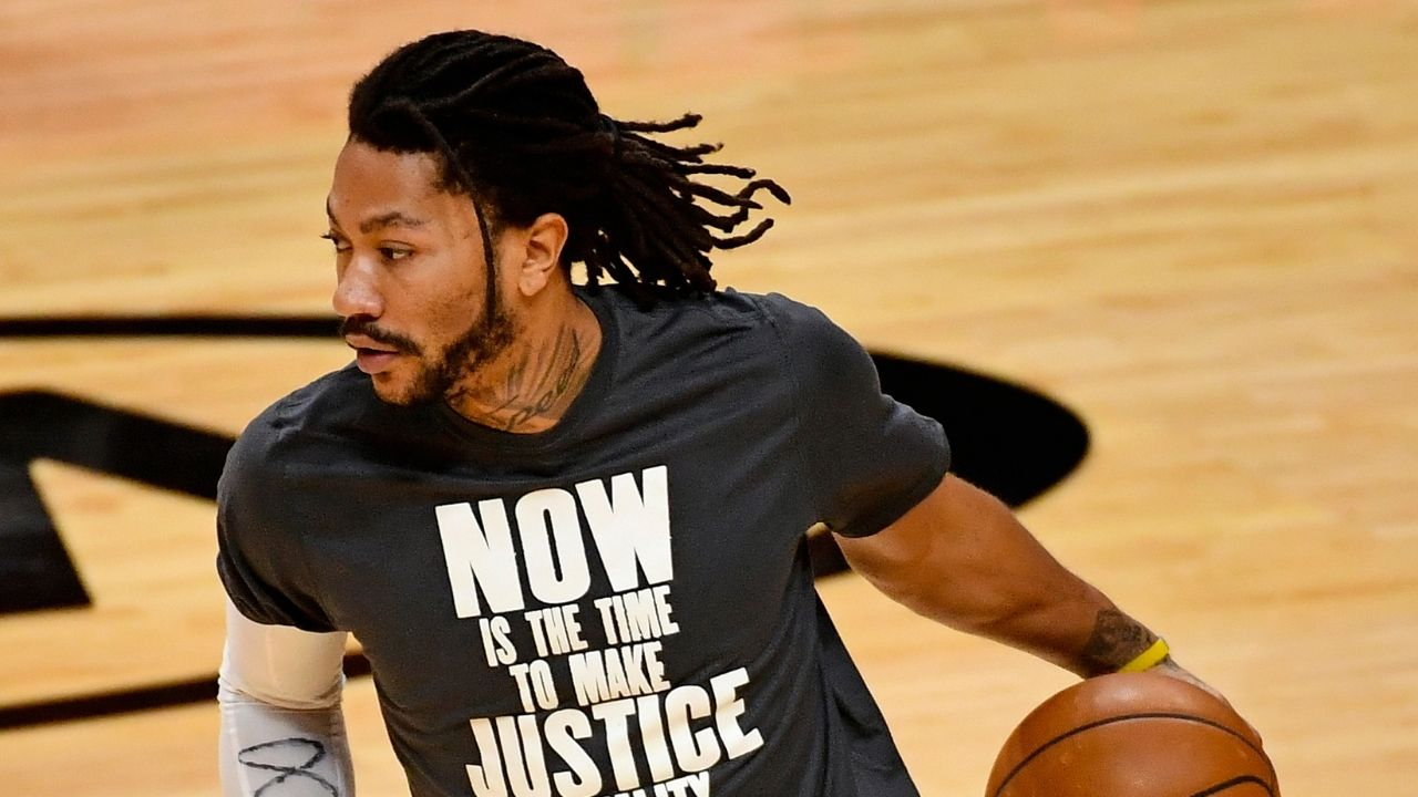 """""""What's pooh spelled backwards?"""": Derrick Rose posts heartwarming, inspirational message on Instagram ahead of rejoining the New York Knicks"""