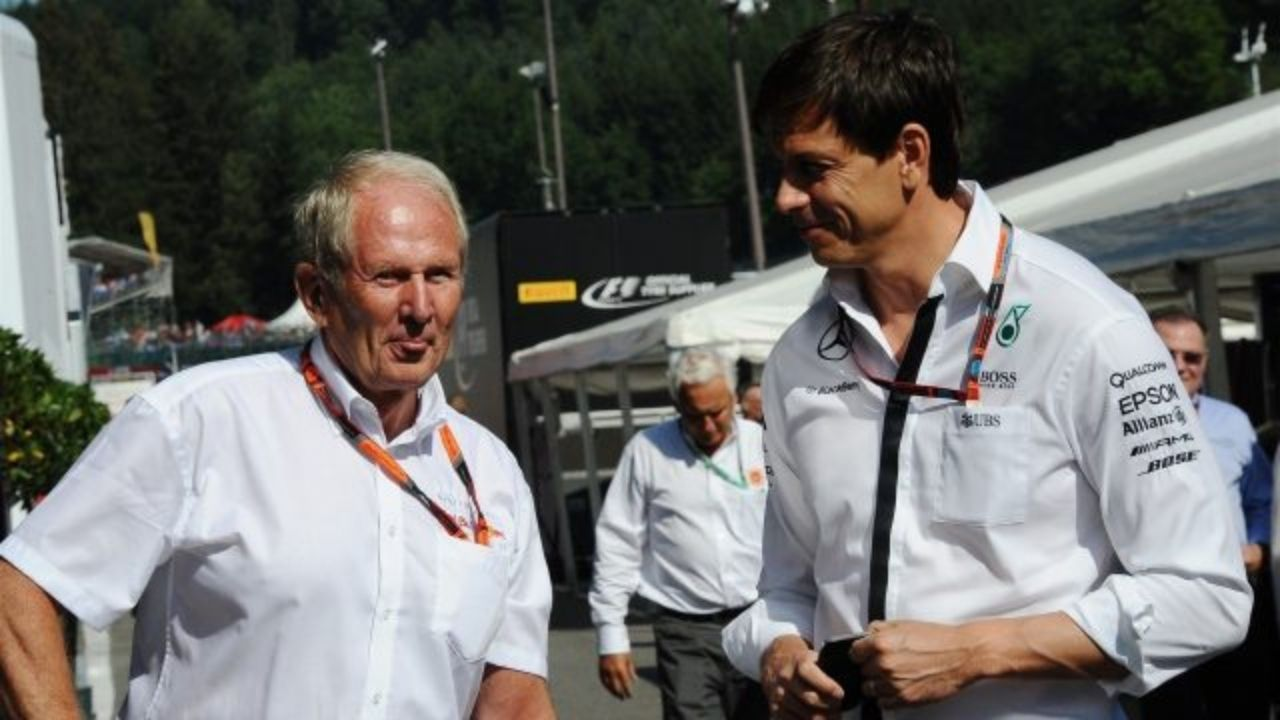 """""""Toto is just trying to create tension""""- Helmut Marko not impressed with Mercedes mind games"""