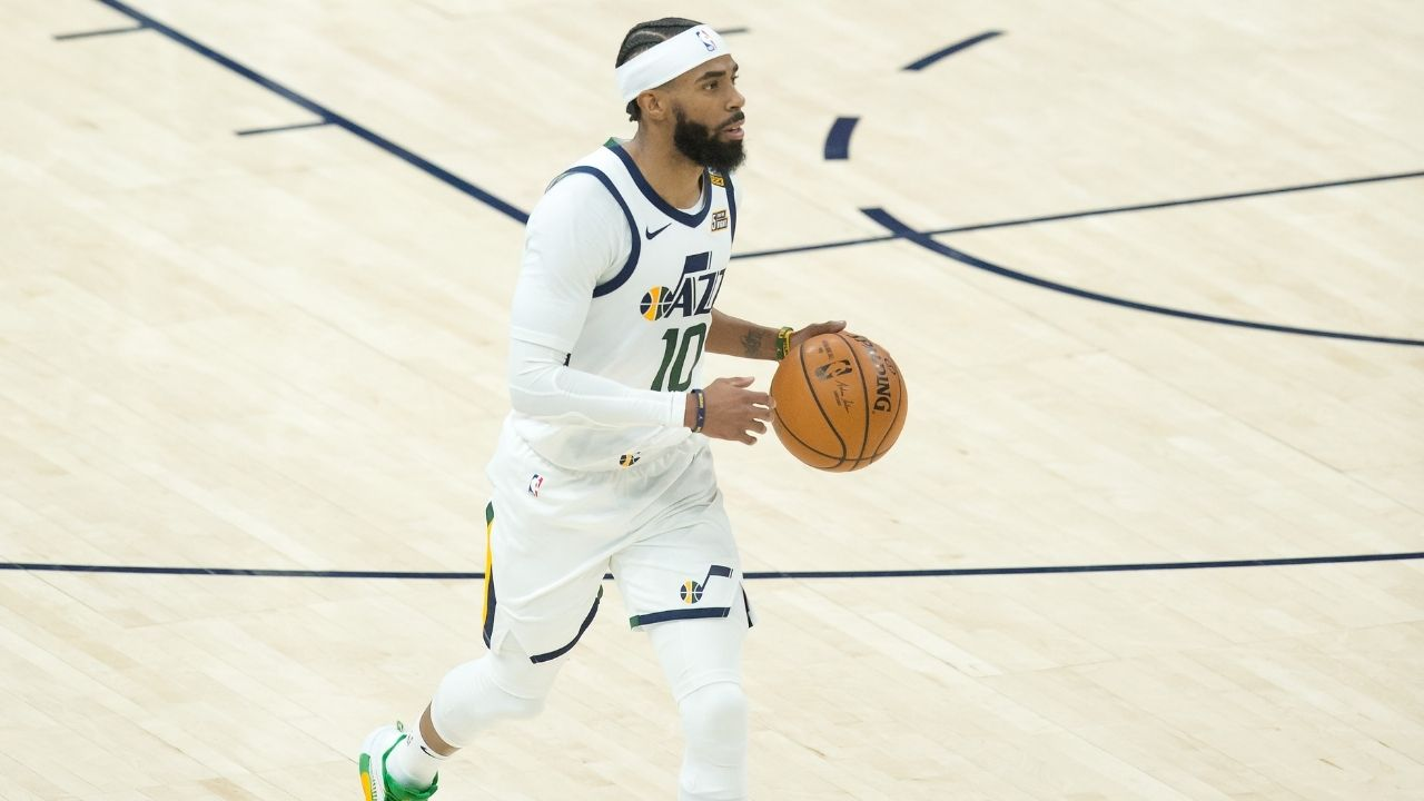 """Mike Conley still got bounce, but he's the only ground-bound Jordan Brand player"": Jordan Clarkson roasts Jazz teammate for not dunking in-game this season"