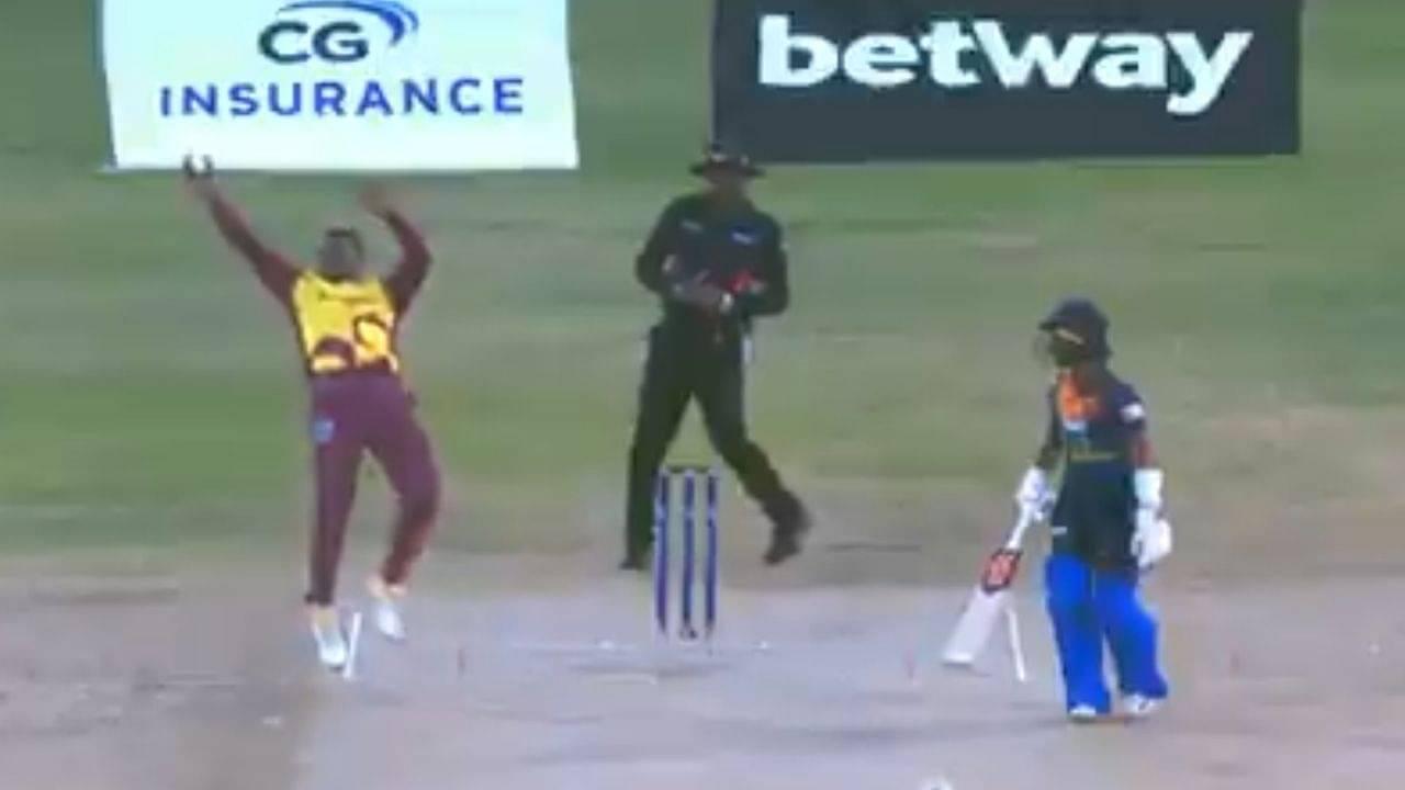 Fabian Allen cricket: Punjab Kings all-rounder grabs one-handed stunner to dismiss Danushka Gunathilaka in Antigua T20I