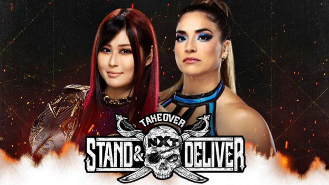 Io Shirai Vs Raquel Gonzalez set to main event Night 1 of NXT TakeOver Stand and Deliver